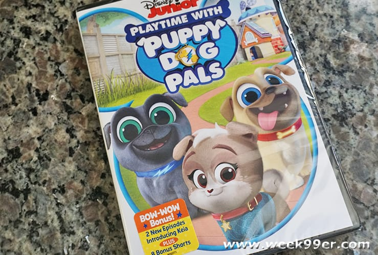 playtime with puppy dog pals dvd review