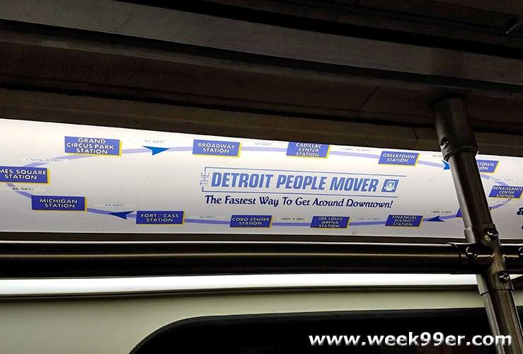 People Mover Detroit Art Tour