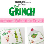 Create Your Own Grinch Envelope to Collect School Valentine's Cards