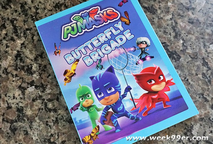 pj masks butterfly brigade review