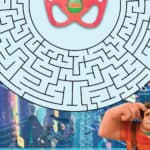 Wreck Those Snow Days Blues with these Ralph Breaks the Internet Activity Sheets