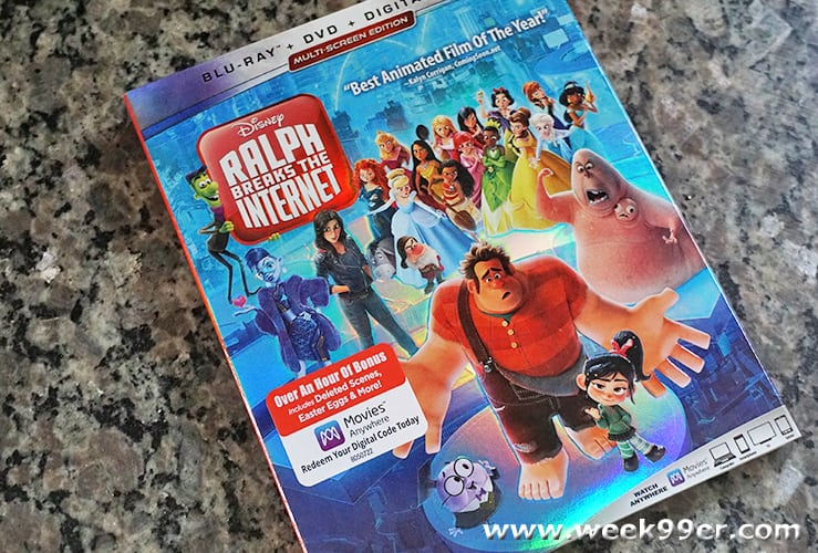 ralph breaks the internet at home release review