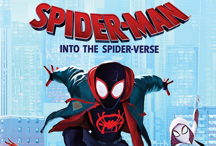 Spider-Man: Into the Spider-Verse at home release