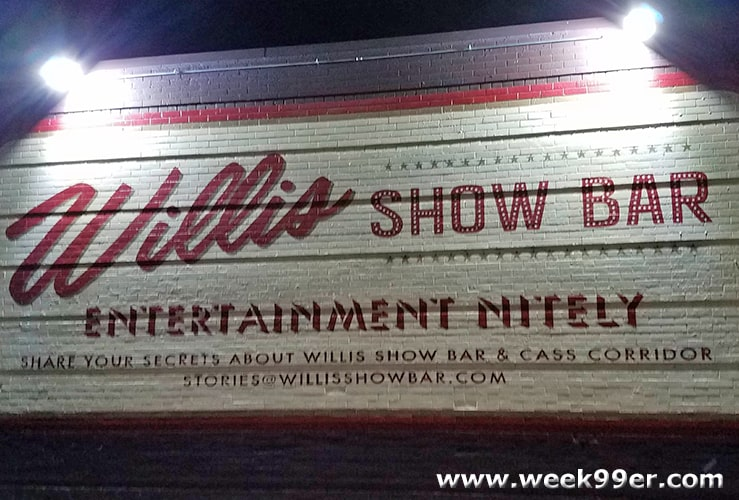 Willis Show Bar Detroit Review