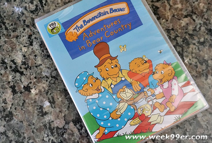 The Berenstain Bears Adventures in Bear Country DVD Review