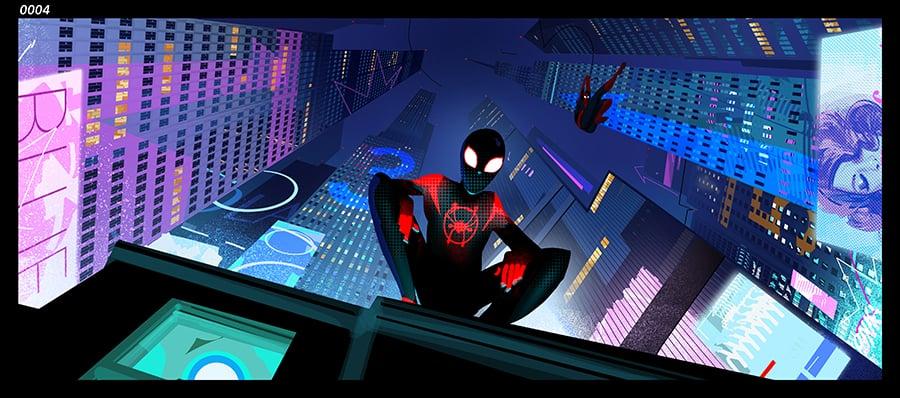 Spider-Man Into the Spider-Verse Concept Art