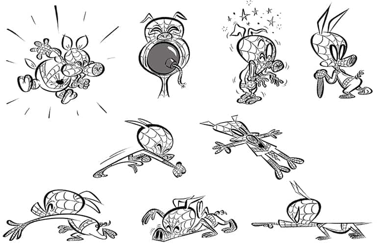 Spider Pig Concept Art