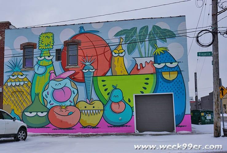 Eastern Market Murals Detroit