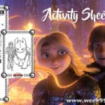 How To Train Your Dragon: The Hidden World Activity Sheets!