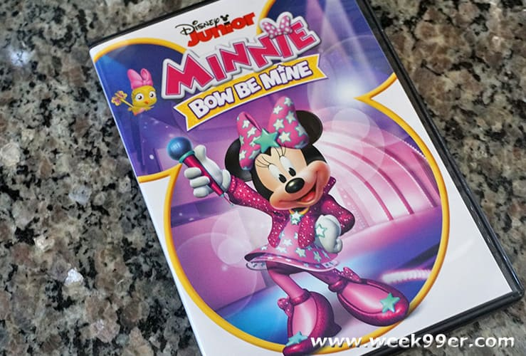 minnie bow be mine dvd review