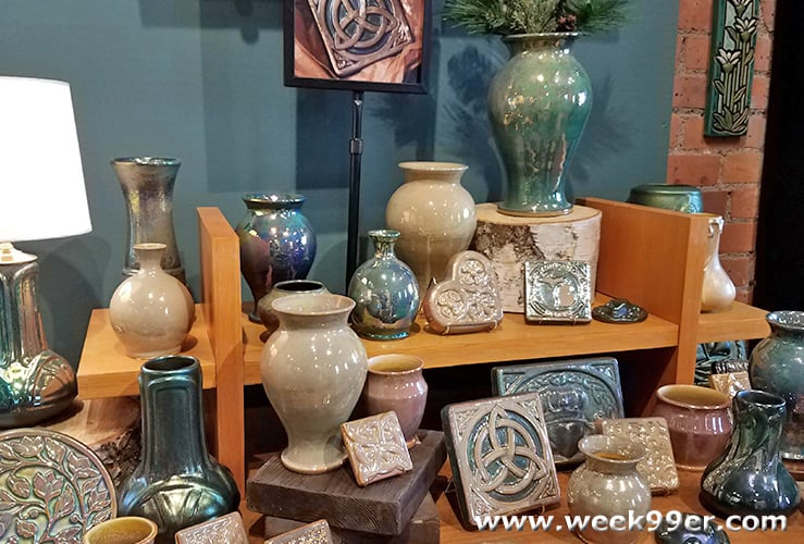 pewabic pottery Detroit