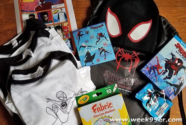 Spider-Man Into the Spider-Verse Prize Pack Giveaway