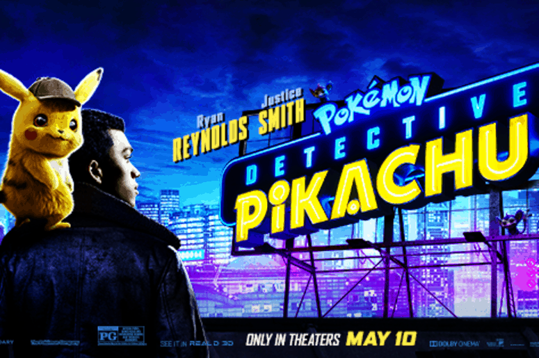 Movie Poster 2019: Meet Detective Pikachu At MI Earth Day Fest