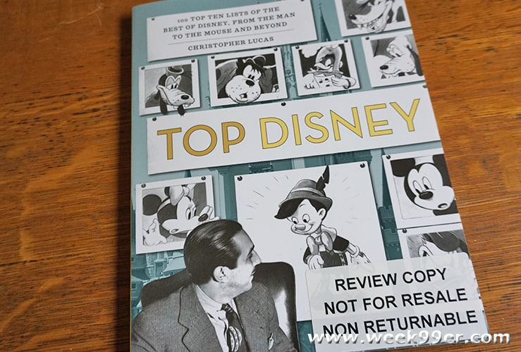 Top Ten Disney Facts Lists Review