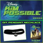 Create Your Own Kim Possible Pendant Necklace