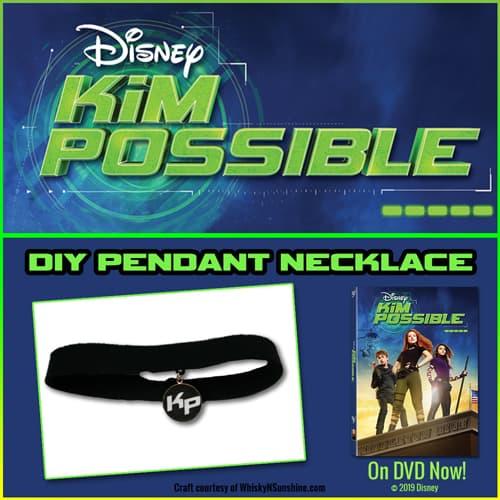 kim possible diy pendant necklace