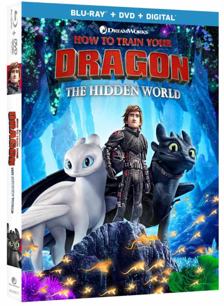 How to Train Your Dragon The Hidden World At Home Release