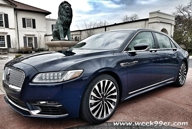 2019 Lincoln Continental Review