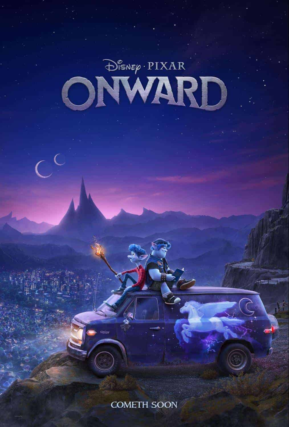 "Get a First Look at Disney and Pixar's ""Onward"""