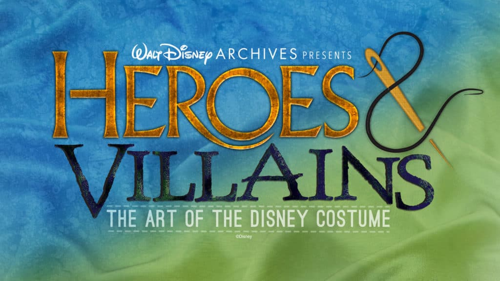 D23 Heroes and Villains Costume Exhibit