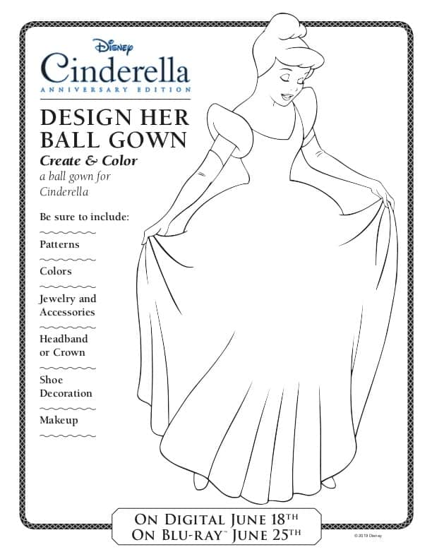 Design Your Own Cinderella Ball Gown