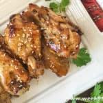 Sesame Garlic Wings Instant Pot Recipe