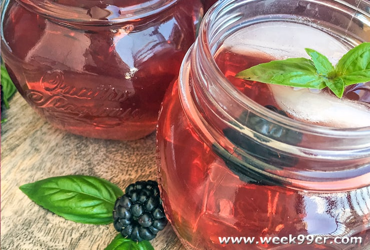 Instant Pot Blackberry Tea Recipe