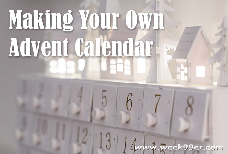 Making Your Own Advent Calendar