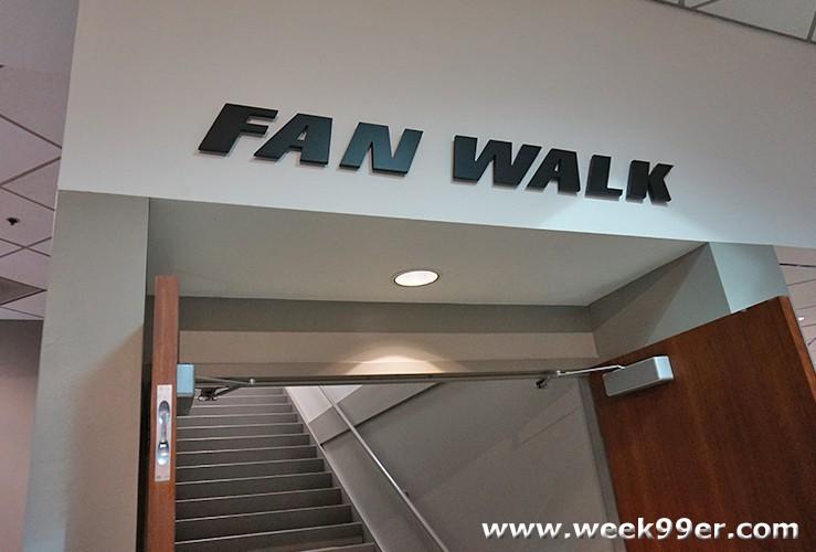 Penske Fan Walk