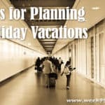 10 Holiday Travel Tips
