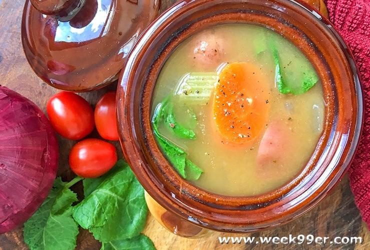 instant pot vegan vegetable soup