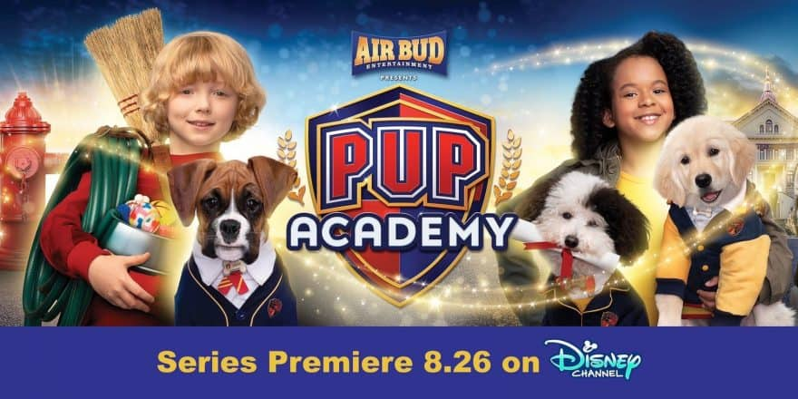 Pup Academy is Coming to the Disney Channel on August 26th