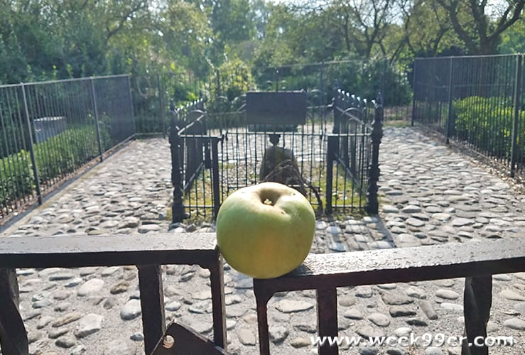 Johnny Appleseed's Gravesite Fort Wayne, Indiana