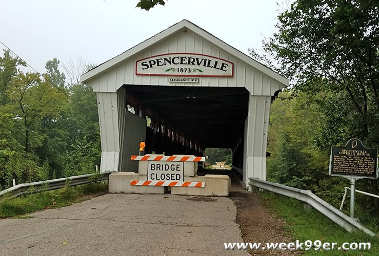Spencerville Covered Bridge Indiana