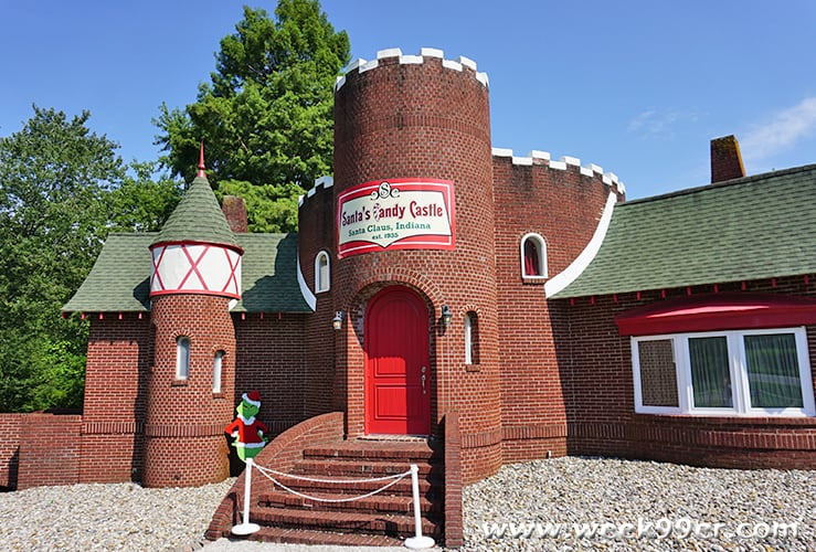 Santa's Candy Castle Santa Claus Indiana