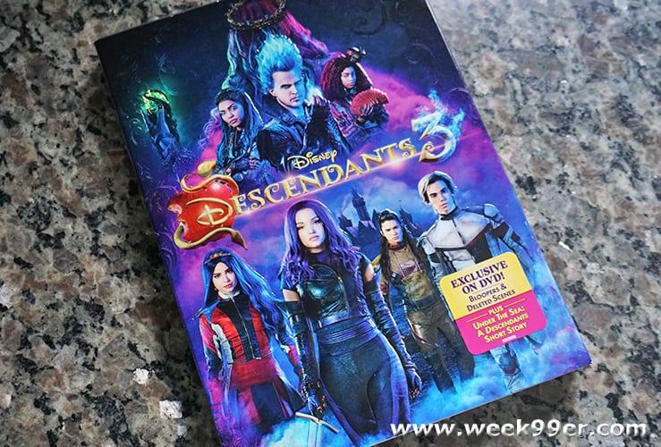 Disney Descendants 3 DVD Review