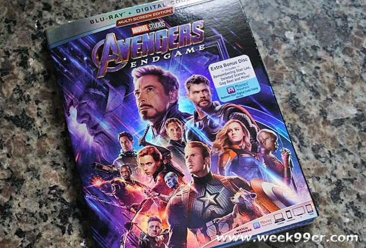 Avengers Endgame Multi-Disc Release Review