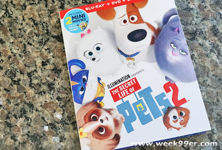 Secret Life of Pets 2 At Home Release