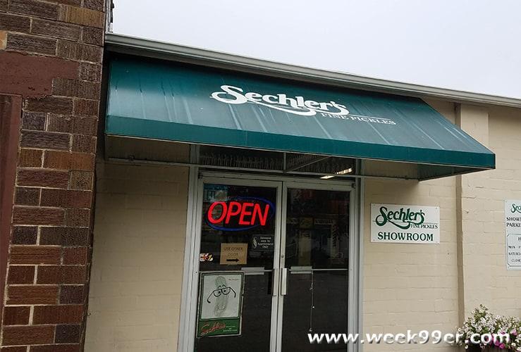 Sechler's Pickles Tour St. Joe, Indiana
