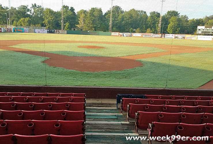 League Stadium Huntingburg Indiana League of Their Own Field