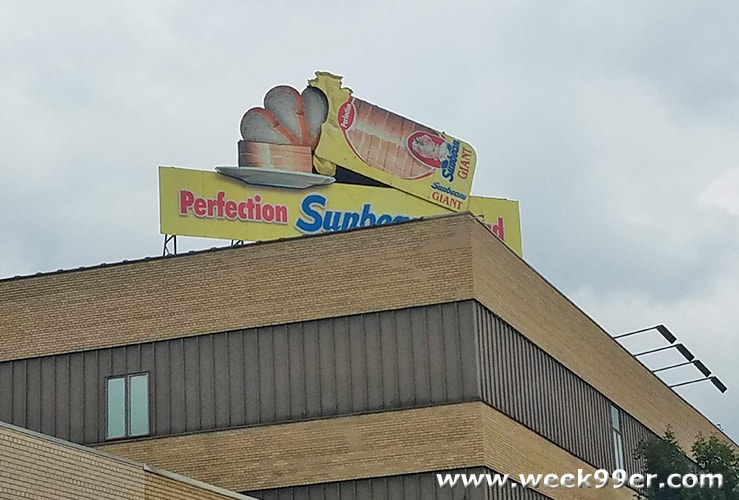 Sunbeam Bread Sign Fort Wayne, Indiana
