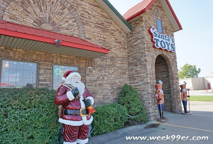Santa's Toy Shop Santa Claus, Indiana