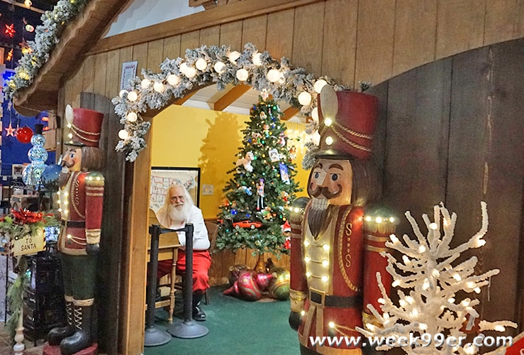 Christmas World Santa Claus Indiana