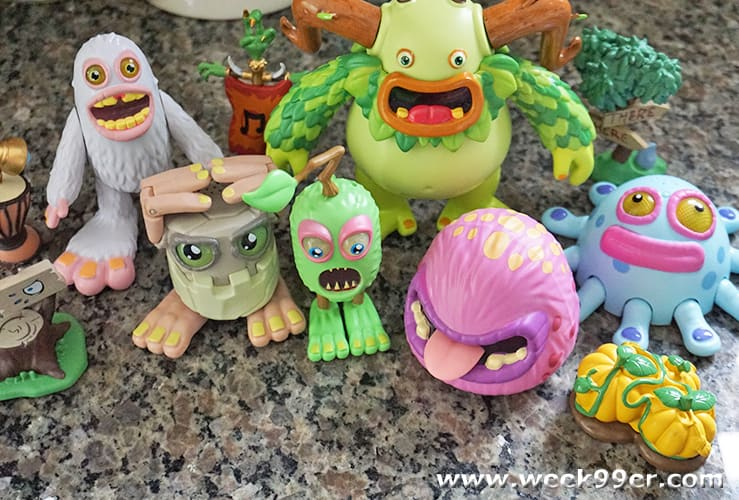My Singing Monster Series 1 Toys Review