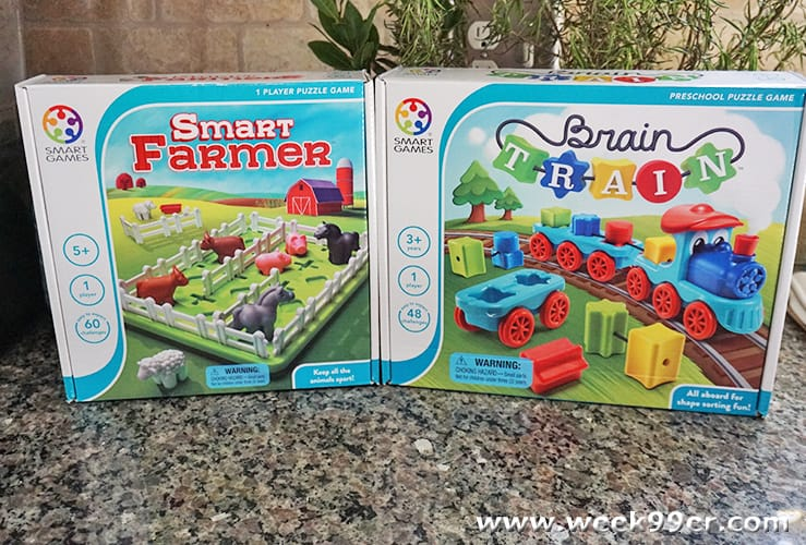 Smart Games Smart Farmer and Brain Train Review