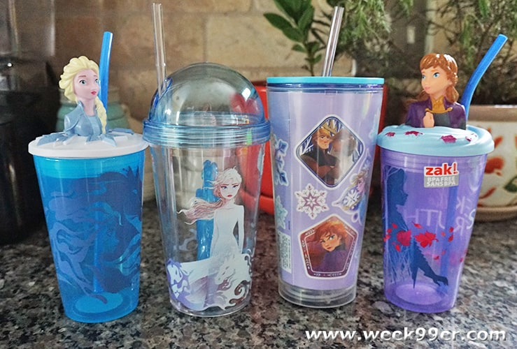 Frozen 2 Cups from Zak! Designs