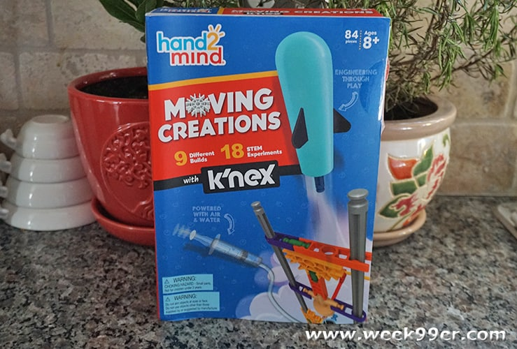 K'nex Moving Creations Hand 2 Mind Set