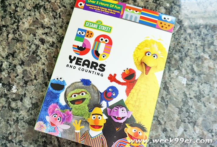 Sesame Street 50 Years and Counting DVD Review