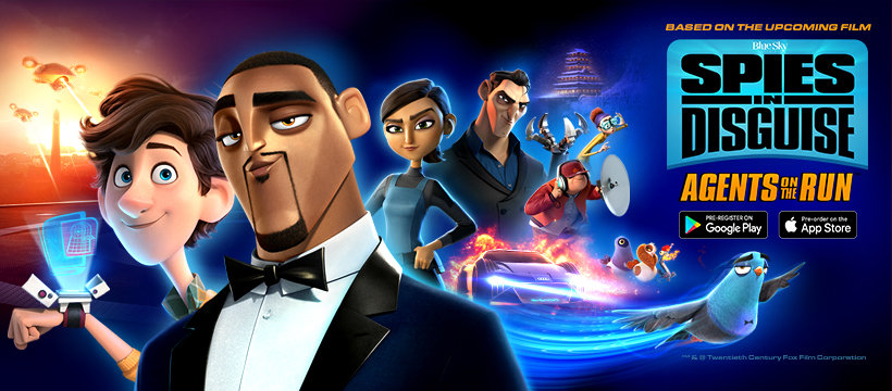 Spies in Disguise Agents on the Run Game Review