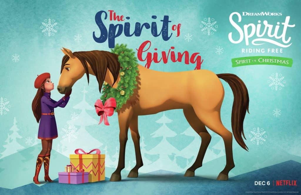 DreamWorks Spirit Riding Free Spirit of Christmas